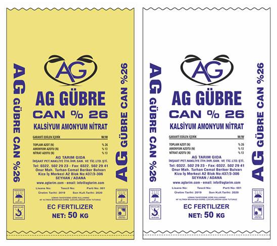 Ag Tarım  Ürünleri - Can - Kalsiyum Amonyum Nitrat
