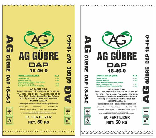 Ag Tarım Ürünleri - Dap - 18-46-8