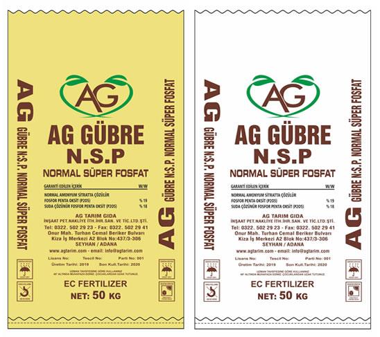 Ag Tarım Ürünleri - Nsp - Normal Süper Fosfat